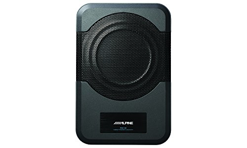 Alpine Electronics PWE-S8 Restyle Compact Powered 8-Inch Subwoofer , black