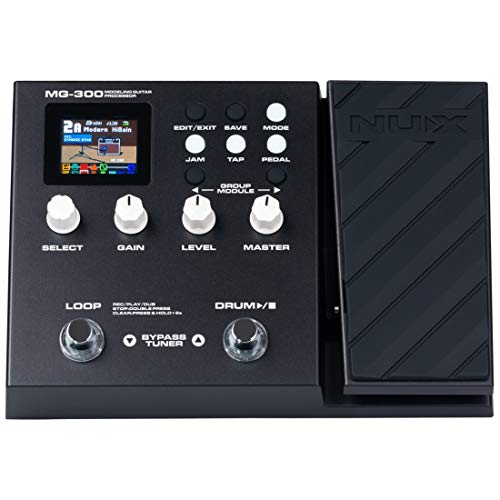 NUX MG-300 Multi Effects Pedal TSAC-HD Pre-Effects,Amp Modeling algorithm,CORE-IMAGE...