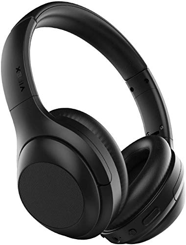 VIPEX Active Noise Cancelling Headphones, Bluetooth 5.0 Headphones Wireless Over Ear Headphones with...