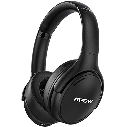 Mpow H19 IPO Active Noise Cancelling Headphones, Bluetooth Headphones Over Ear with CVC8.0 Mic,...