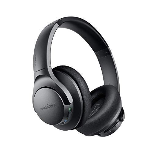 Anker Soundcore Life Q20 Hybrid Active Noise Cancelling Headphones, Wireless Over Ear Bluetooth...