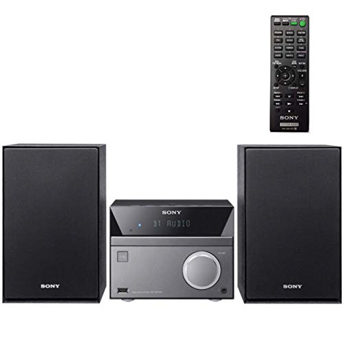 Sony Compact Stereo Sound System for House with Bluetooth Wireless Streaming NFC, Micro Hi-Fi 50W,...