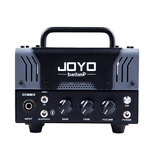 JOYO ZOMBIE Amplifier 20 Watt Hybrid Mini Tube Head Bluetooth BanTamp Series