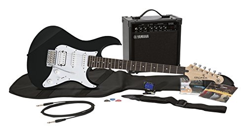 Yamaha Gigmaker EG Electric Guitar Pack with Amplifier, Gig Bag, Tremolo Bar, Tuner, Instructional...