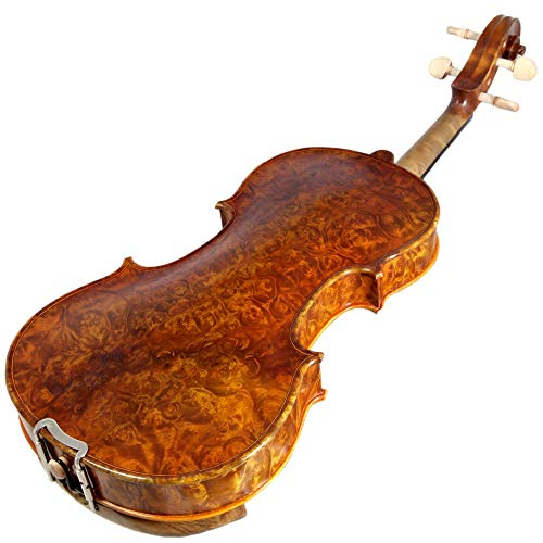 Sky 4/4 Full Size NY100 Bird's Eye Vintage Violin Guarantee Grand Mastero Sound Professional...