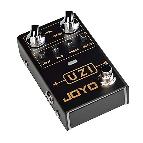 JOYO R-03 UZI Distortion Pedal Guitar Effect Pedal for Heavy Metal Music High Gain Distortion Pedal...