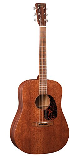Martin Guitar D-15M with Gig Bag, Acoustic Guitar for the Working Musician, Mahogany Construction,...