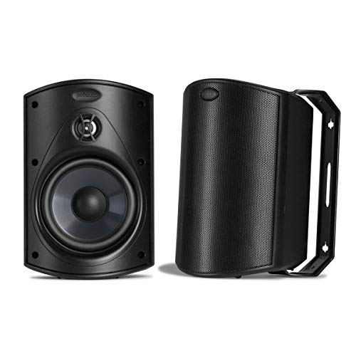 Atrium5-All Weather Outdoor Loudspeakers with 5' Drivers and 3/4' Tweeters (PAIR) - All-Weather...