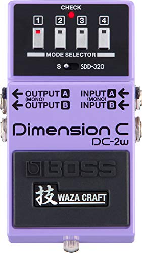 BOSS WAZA Craft Dimension C Guitar Pedal (DC-2W)