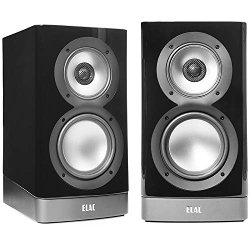 Elac ARB51-GB Navis Premium Powered Bookshelf Speakers - (Pair) Gloss Black