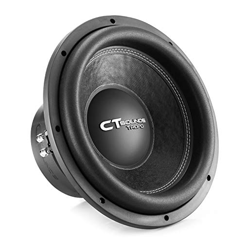 CT Sounds TROPO-12-D2 1300 Watt Max Power Dual 2 Ohm 12in Car Subwoofer