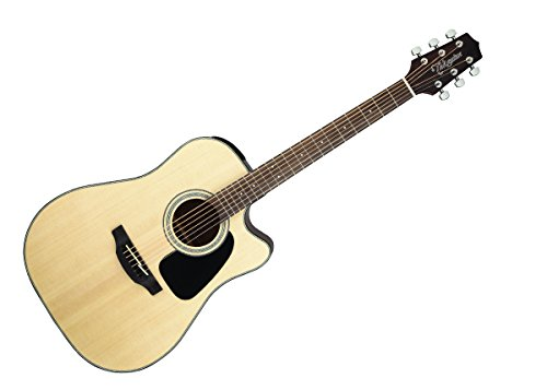 Takamine GD30CE-NAT Dreadnought Cutaway Acoustic-Electric Guitar, Natural