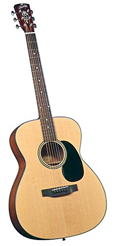 Blueridge Guitars 6 String Acoustic Guitar, Right Handed, Solid Sitka, 000-size (BR-43)