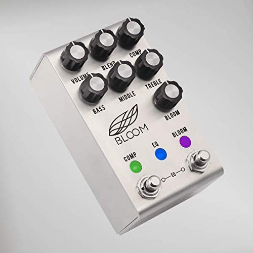 Jackson Audio Bloom Compressor EQ Boost Pedal w/Midi