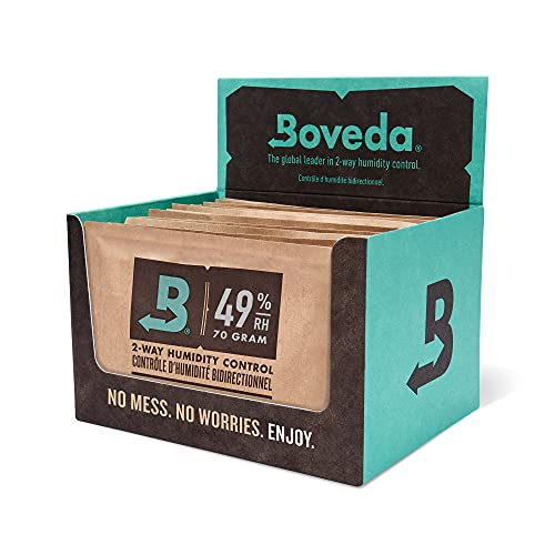 Boveda for Music   49% RH 2-Way Humidity Control Replacement for Use in Fabric Holder   Size 70 for...
