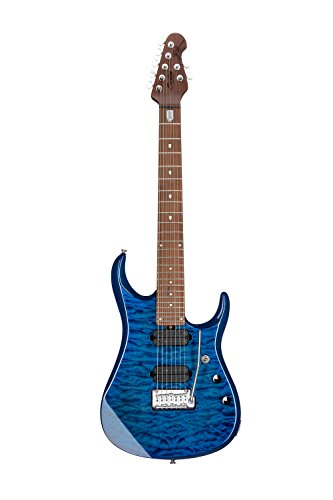 Sterling By MusicMan 7 String Sterling by Music Man John Petrucci Signature Guitar, JP157, Neptune...