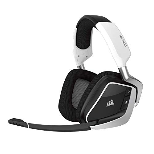 Corsair Void Pro RGB Wireless Gaming Headset - Dolby 7.1 Surround Sound Headphones for PC - Discord...