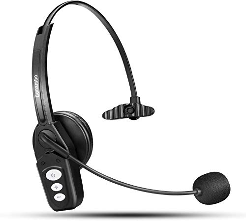 Bluetooth Headset V5.0, Pro Wireless Headset High Voice Clarity with Noise Canceling Mic for Cell...