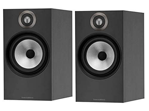 B&W (Bowers & Wilkins) Bookshelf Speaker 606MB (Matte Black) (1Pair)【Japan Domestic Genuine...