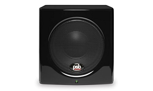 PSB SubSeries 100 GLSB Compact Powered Subwoofer Gloss Black