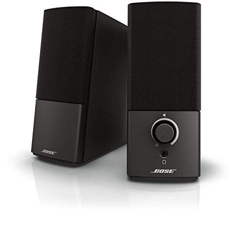 Bose Companion 2 Series III Multimedia Speakers - for PC (with 3.5mm AUX & PC Input) Black