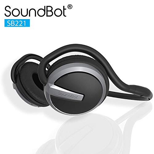 SoundBot¨ SB221 HD Wireless Bluetooth 4.0 Headset Sports-Active Headphone for 20Hrs Music Streaming...