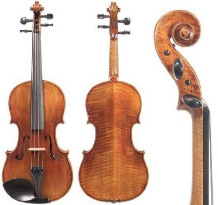 Violin 4/4 Sv.100 By Snow. With Glasser Bow and Core Case.