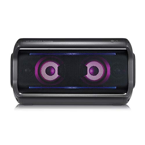 LG PK7 XBOOM Go Water-Resistant Wireless Bluetooth Party Speaker with Up To 22 Hours Playback -...