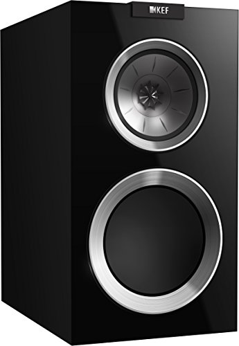 KEF R300 Bookshelf Loudspeaker - Gloss White (Pair)