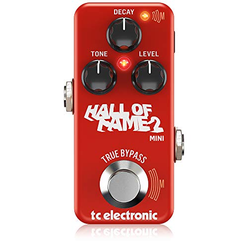 TC Electronic Electric Guitar Single Effect (HALL OF FAME 2 MINI REVERB)