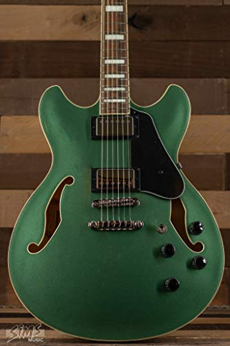 Ibanez AS73OLM AS Artcore Hollow Body Electric Guitar (Olive Metallic)