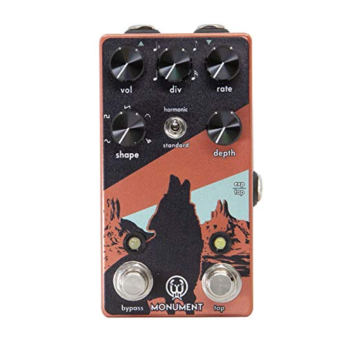 Walrus Audio Monument V2 Harmonic Tap Tremolo Guitar Effects Pedal