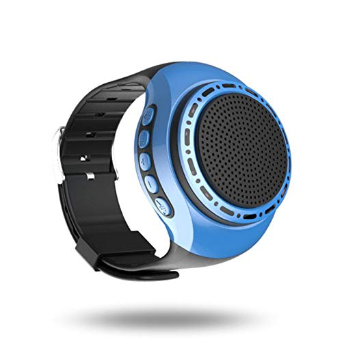wireless Speaker Watch Portable Wearable Mini Sport Wireless Bluetooth 4.0 Stereo Subwoofer with Any...