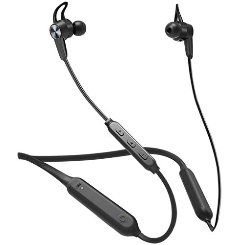 Avantree NB17 Bluetooth 5.0 Neckband Active Noise Cancelling Earbuds with Ambient Aware Mode, IPX5...