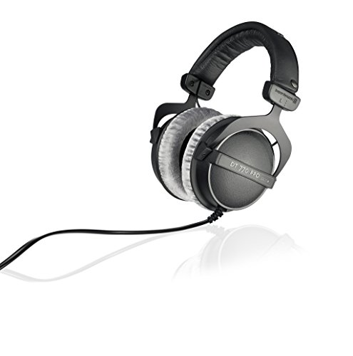 beyerdynamic DT 770 PRO 250 Ohm Over-Ear Studio Headphones in Black. Closed Construction, Wired for...