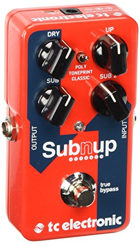 TC Electronic Sub 'N' Up Octaver Pedal with TonePrint