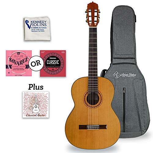 Antonio Giuliani Classical Mahogany Guitar Outfit (CL-5) - Acoustic Guitar with Case and Accessories...