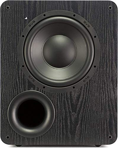 SVS PB-1000 Subwoofer (Black Ash) – 10-inch Driver, 300-Watts RMS, Ported Cabinet