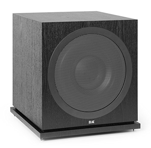 ELAC Debut 2.0 SUB3030 1000 Watt Powered Subwoofer, Black