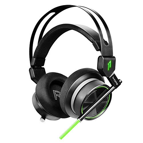 1MORE VR Gaming Over-Ear Headset with Mic, Super Bass 7.1 Stereo Surround Sound, Dual Mic Noise...