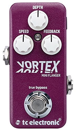 TC Electronic Vortex Mini Flanger Guitar Effect Pedal