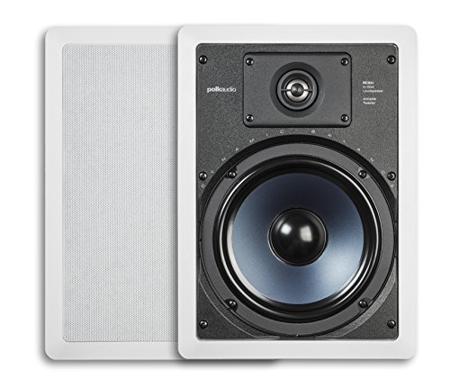 Polk Audio RC85i 2-way Premium In-Wall 8' Speakers (Pair) | Perfect for Damp and Humid...