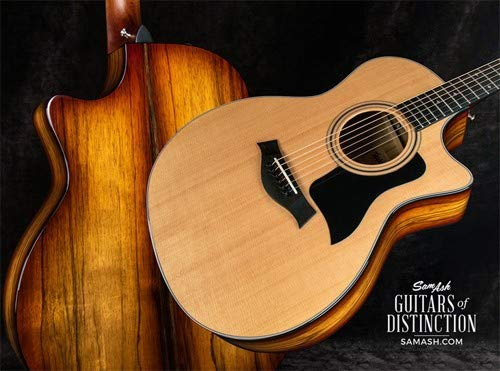 Taylor Guitars 414ce Limited Edition Black Limba Grand Auditorium Acoustic-Electric Guitar...