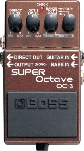 BOSS OC-3 Electronic Keyboard Pedal or Footswitch (OC3)