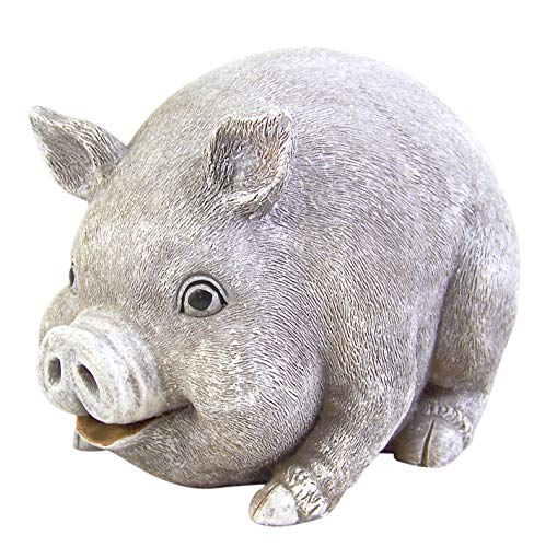 Pudgy Pal Pig Shaped Outdoor Bluetooth Speakers, 6 Inch