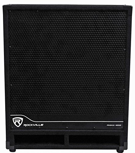 Rockville RBG18S 18' 2000W Active Powered PA Subwoofer W/Dsp+Limiter Pro/DJ