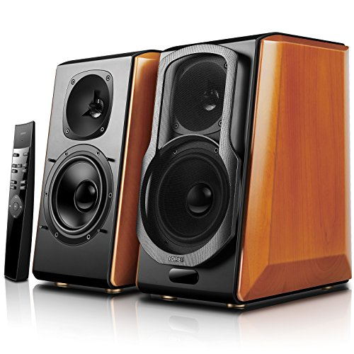 Edifier S2000pro Powered Bluetooth Bookshelf Speakers - Near-Field Active Studio Monitor Speaker...