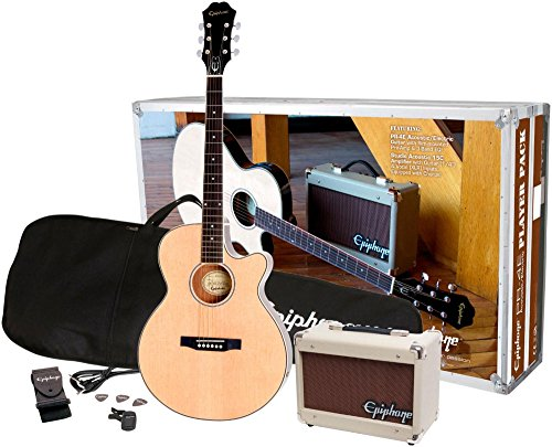 PR-4E Acoustic/Electric Guitar Player Package