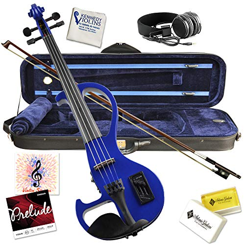 Bunnel SHREDDER Electric Violin Outfit (Jet Black)