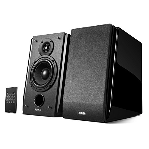 Edifier R1850DB Active Bookshelf Speakers with Bluetooth and Optical Input - 2.0 Studio Monitor...